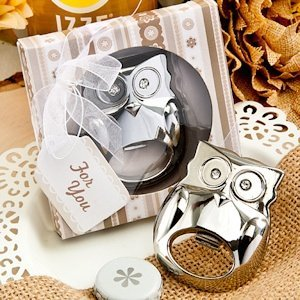 Fabulous Owl Bottle Opener Favor image
