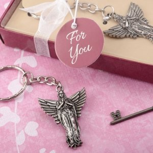 Guardian Angel Metal Key Chain Favors image