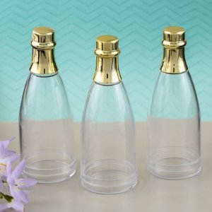 Perfectly Plain Collection Champagne Bottle Favor Containers image