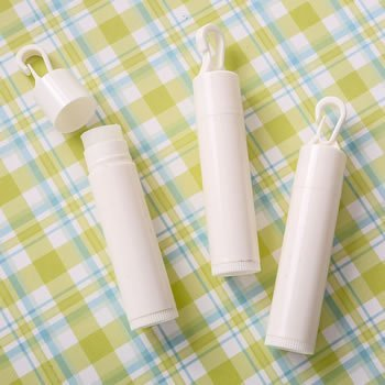 Perfectly Plain Lip Balm Favor with Clip image