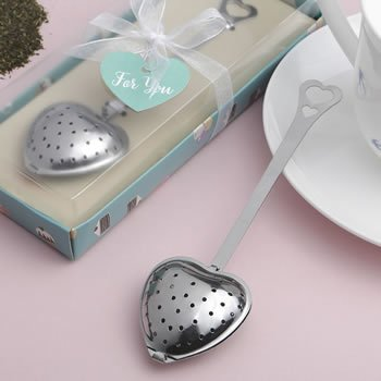 Heart Shaped Tea Infuser Favors image
