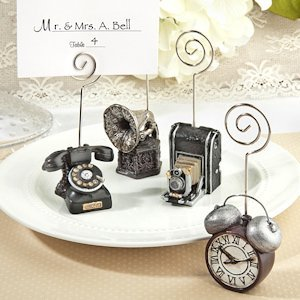 Assorted Vintage Design Place Card Holders image