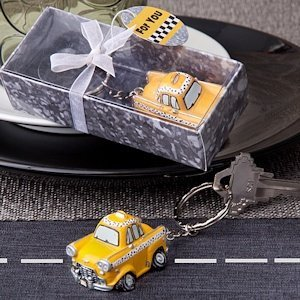 Taxicab Key Chains image
