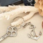 Nautical Themed Anchor Key Chain Favors