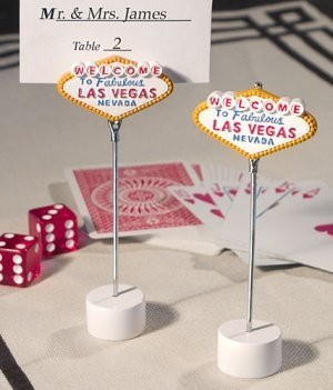 'Welcome to Las Vegas' Place Card Holders image