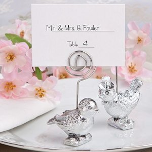 Lovebirds Place Card Holders image