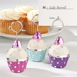 Adorable Cupcake Place Card Holders image
