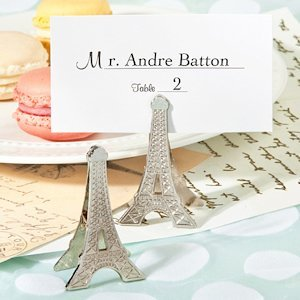 Perfectly Parisian Place Card Clip Party Favors image