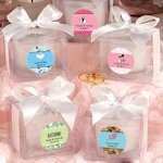 Love Theme Personalized Candle Favor