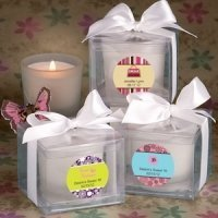 Sweet 16 Personalized Candle Favors