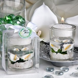 Beautiful Calla Lily Candle Favor image
