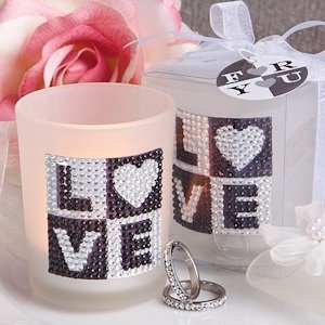 Bling Collection Candle Holder Wedding Favors image