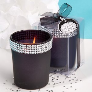 Bling Collection Black Candle Holders image