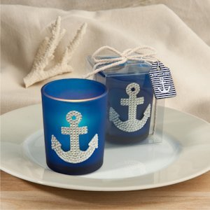 Spectacular Anchor Candle Wedding Favors image