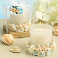 Life's a Beach Candle Wedding Favors