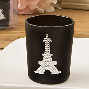 From Paris with Love Candle Votive French Wedding Favors image