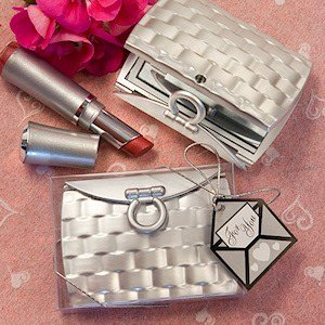 Pocketbook Design Elegant Compact Mirrors image