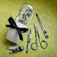 Damask Design Manicure Sets