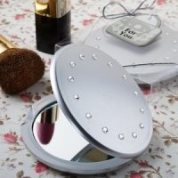 Classy Sparkling Compact Mirror Party Favors