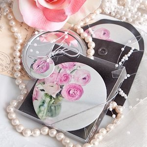 Handy Rose Pocket Mirror image