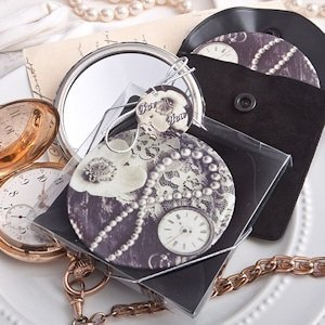 Vintage Pocket Mirror Favors image