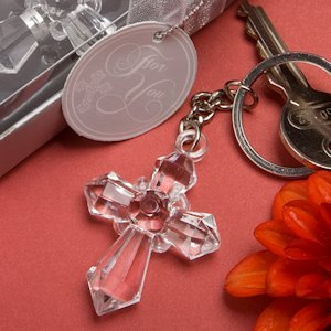 Clearly Special Cross Key Chains image