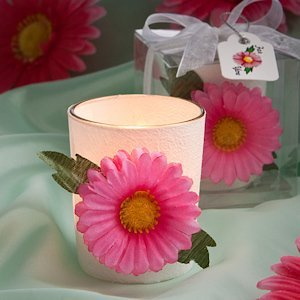 Vibrant and Versatile Gerbera Daisy Candles image