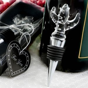 Choice Crystal Cactus Design Bottle Stopper Favors image