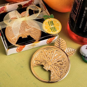 Citrus Design Summer Bottle Opener Favor image