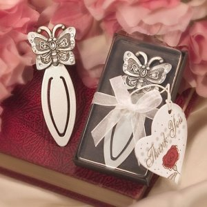 Gift Boxed Butterfly Bookmark Favors image