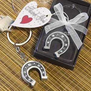 Horseshoe Keychain Party Favors image