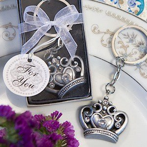 Majestic Crown Keyring Favors image
