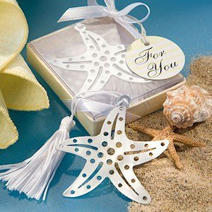 Book Lovers Starfish Bookmark Favors image