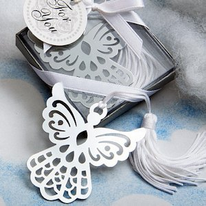 Book Lovers Angel Bookmark Favors image
