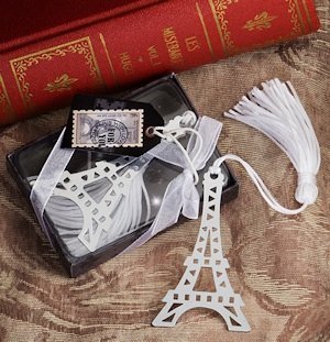 Amour Bookmark Eiffel Tower Party Favors image