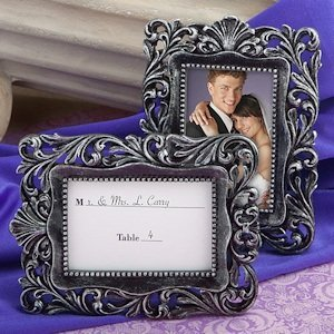 Baroque Style Wedding Place Card Frames image