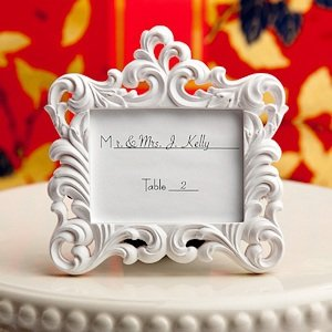 Baroque-Style Picture Frame Place Card Holders image