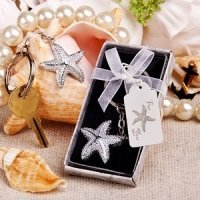 Brilliant Keychain Starfish Favors
