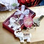 Majestic Elephant Key Chain Favors