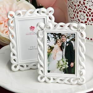 White Knight Picture Frame Wedding Favors image