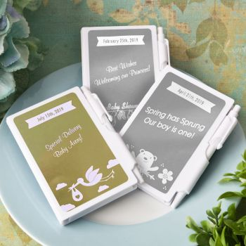 Personalized Metallic Collection Notebook Favors image