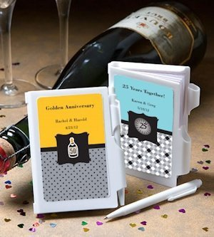 Any Anniversary Personalized Notebook Favors image