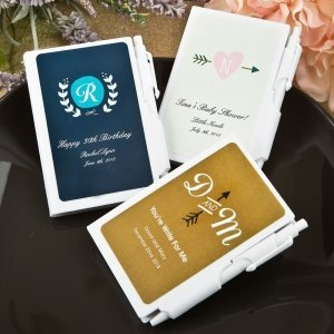 Monogram Collection Notebook Favors image