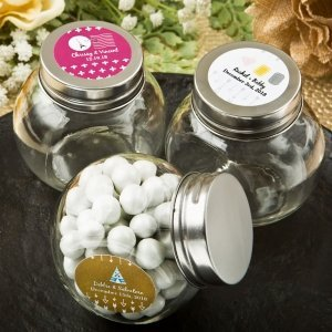 Aztec Wanderlust Design Collection Candy Glass Jar Favors image