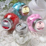 Personalized Wedding Glass Mini Jar Favors