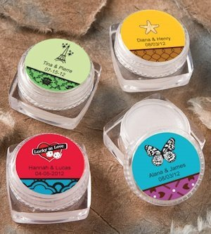 Personalized Theme Lip Balm Favors image