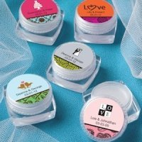 Personalized Wedding Lip Balm Favors