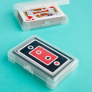 Perfectly Plain Collection Playing Card Favors image