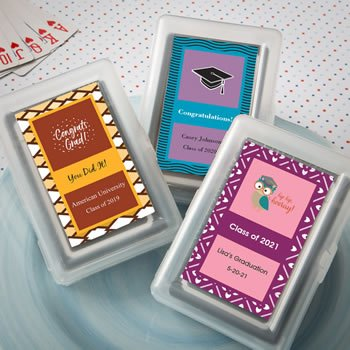 Personalized Graduation Design Playing Card Favors image