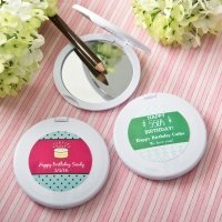 Personalized Birthday Design Compact Mirror Favors
